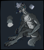 angsty dhole design BOUGHT by gr-ay