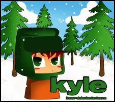 South park:: Chibi Kyle:: by Inner-D