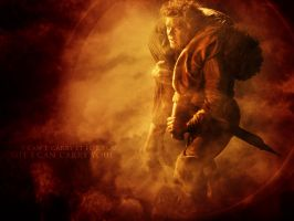 Lord of the Rings - Sam and Frodo by Sanguine-Gallery