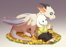 Little Goat Babies by Fourth-Star
