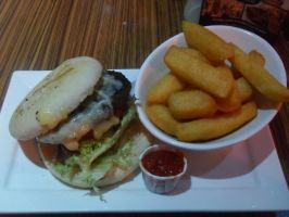 Cheese Burger by Chrisdawe2005