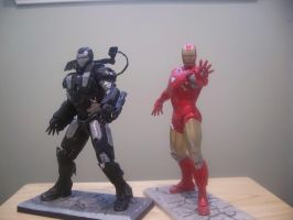 Iron Man 2 Model Kits by Arc-Caster135