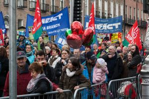 ICTU Protest Dublin XI by suolasPhotography