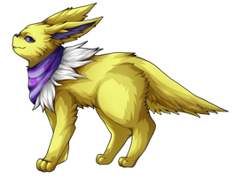 [PKMN] hella cool jolteon oc by Muruni