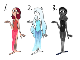 Pearls Adoptables(Closed) by MysteryMannie