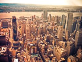 nyc tilt shift by ukhan50699