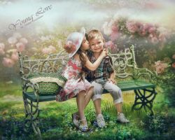 Young love by CindysArt