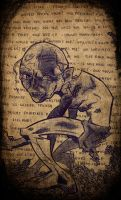 .::Gollum::. by The-Pen-Freak