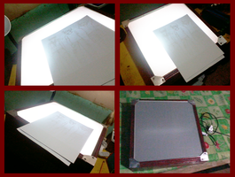 Weekend Project: Lightbox yeheyy!!! w/ Dad by kaisaki1342
