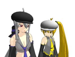 MMD - Simple Hats by AbsentWhite