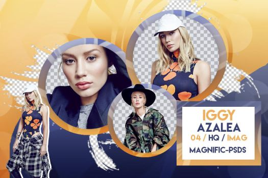 +Pack Png - Iggy Azalea by Magnific-Pngs