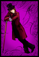 Mr. Willy Wonka by loonylucifer