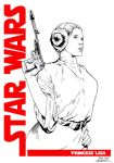 Princess Leia Commission by SergioSandoval