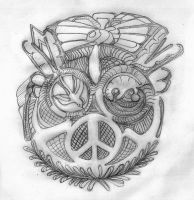 Peace I by MadGardens