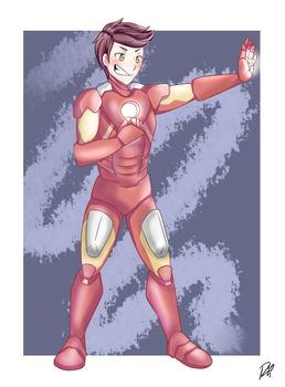 Iron Man Request by RinnieRin