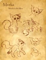 Meeka- Meeka and the Mice by KatGirlStudio