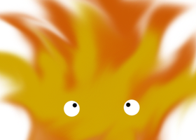 Calcifer by PuccaFanGirl