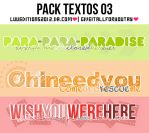 +Pack 03 by LuuEditions2O12