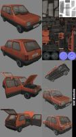 Vehicle 3D Seat Marbella by Kruku