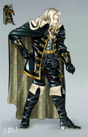 Alucard HR Sprite Color II by JPerezS