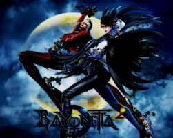 Bayonetta 2 wallpaper by thecatkat