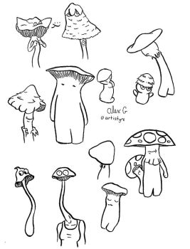 Shrooms by Artistyre