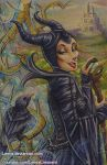 Copic Maleficent by Lemia
