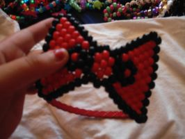 hello kitty bow by DINOCATCREATIONS