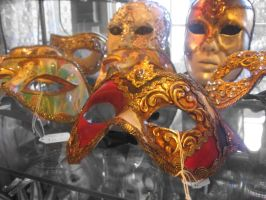 venetian masks by Sparklez