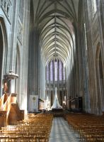 Interior of Orleans Cathedral by Hansmar