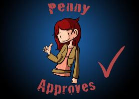 Penny Approves by gwingangel