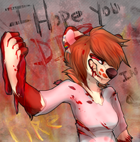 I Hope You Die In A Fire!! by ARl-CAT