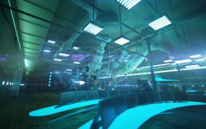 Lab interior. Cam_01. by Shelest
