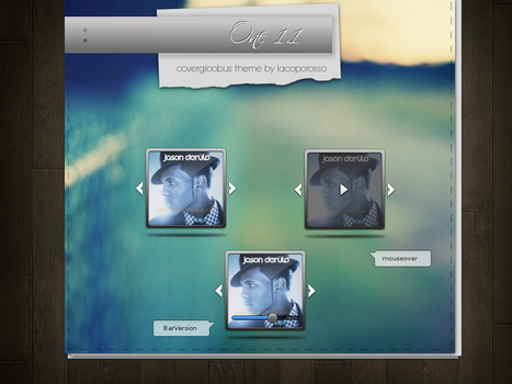 One 1.1 covergloobus theme by iacoporosso
