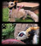 Dragon commission poseable art doll! by CreaturesofNat