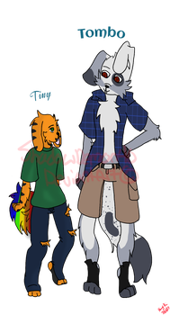 Tiny And Tombo by ShadowDemon40