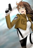 Attack on Titan L by rockleeofthesand