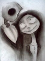 Jack and Sally by just-asinine