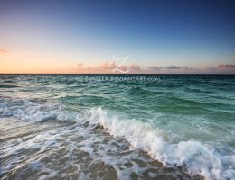 Sunset on the Waves by zvaella