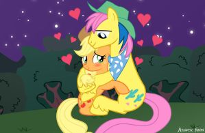 Applejack finds her True Love by AquaticNeon