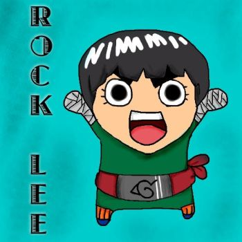 LOL ROCK LEE by Little-L-Naruto