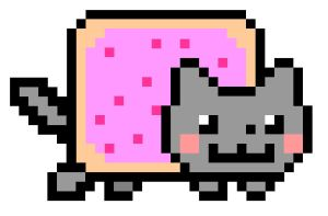 Nyan Cat - THEY'RE INVADING!!!! by Cody2897