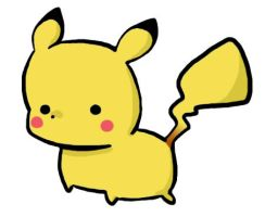 A Wild Pikachu Appears by Capsee