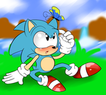Classic Sonic  by raygirl12