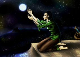 Loki- Goodbye by NikiNixis
