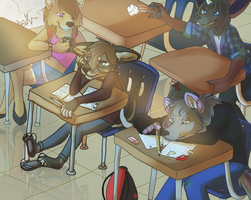 Back to School! by Naoki-Wolf