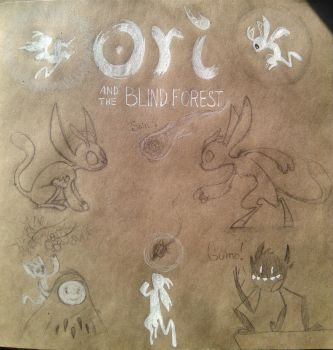 Ori and the Blind Forest_sketches by G-R-O-X