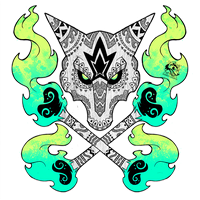 Tribal Alolan Marowak by Darksilvania