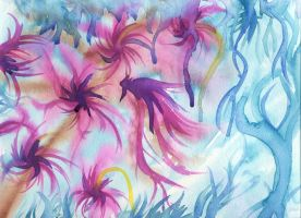 Abstract Floral by Pinkfirefly135