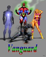 Vanguard, the Bay Area Premier Superteam by mjarrett1000